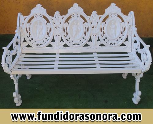Fundidora Sonora - Banca de 3 estaciones