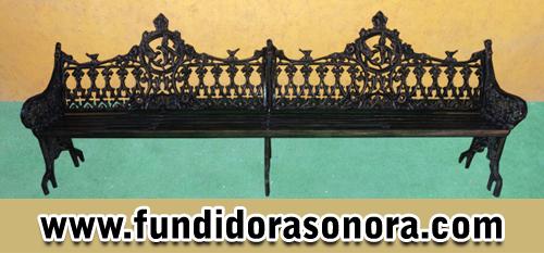 Fundidora Sonora -  Banca de golondrina doble