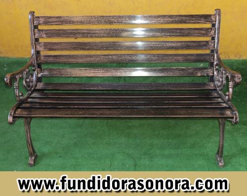 Fundidora Sonora – Banca Rectangular