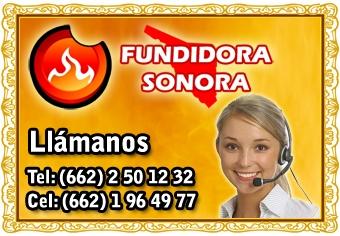 Llámanos - Fundidora Sonora